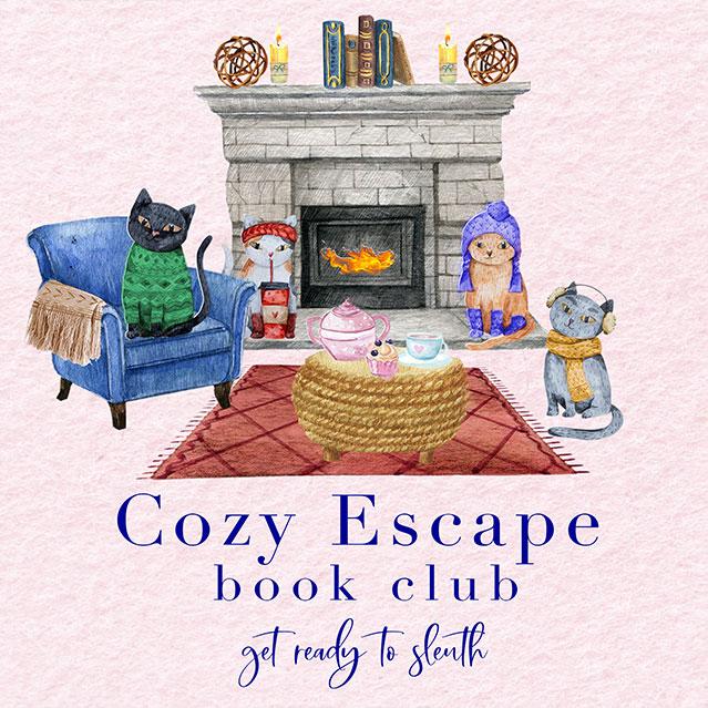 01 Cozy Escape Book Club Logo