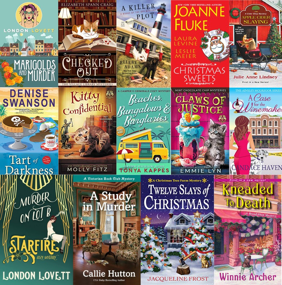 01 Cozy Mystery Book Club Collage Lisa Siefert