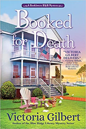 Book Review | Booked for Death by Victoria Gilbert – A Booklover's B and B Mystery