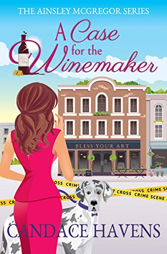 A Case for the Winemaker by Candace Haven - Cozy Escape Book Club Livestream