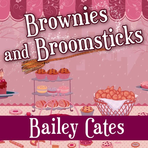 Book Review | Brownies and Broomsticks by Bailey Cates – A Magical Bakery Mystery