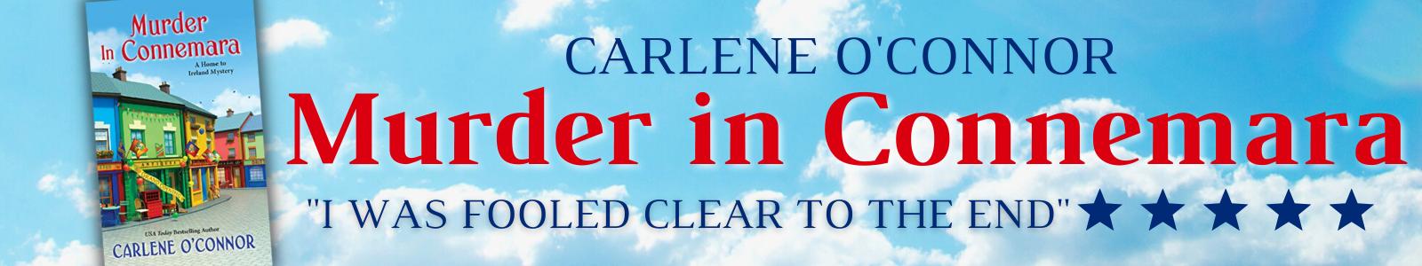 Carlene O'Connor Irish Cozy Mystery