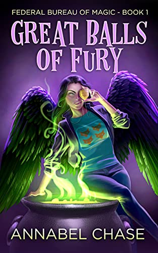 Book Review | Great Balls of Fury by Annabel Chase – Federal Bureau of Magic Cozy Mystery Book 1
