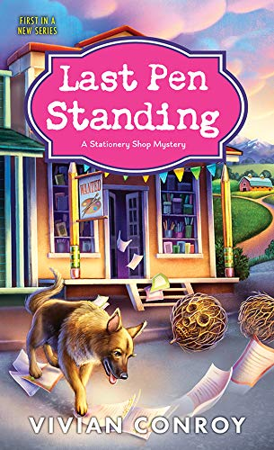 Book Review | Last Pen Standing by Vivian Conroy – Stationery Shop Mystery Book 1