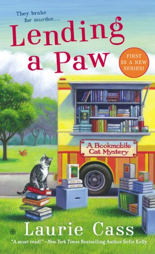 Lending a Paw by Laurie Cass - A Bookmobile Cat Mystery Lisa Siefert Book Reviews