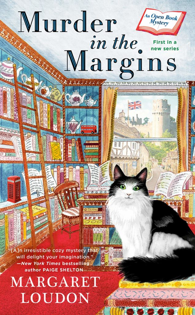 Murder In the Margins by Margaret Loudon An Open Book Mystery