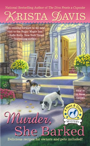 Murder She Barked A Paws and Claws Mystery by Krista Davis - Lisa Siefert Book Reviews