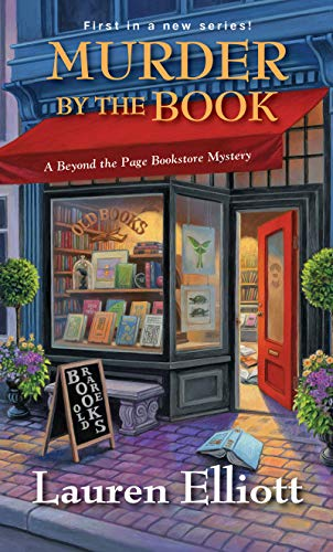 Book Review | Murder By The Book by Lauren Elliott – A Beyond the Page Bookstore Mystery 1