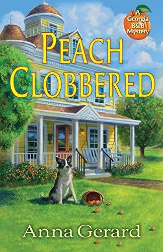 Book Review | Peach Clobbered by Anna Gerard – A Georgia B and B Mystery
