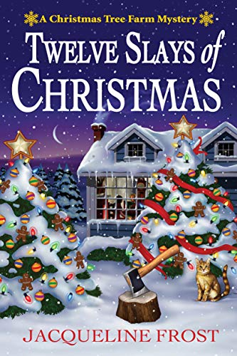 Cozy Escape Book Club Chat | 12 Slays of Christmas by Jacqueline frost – A Christmas Tree Farm Mystery
