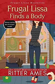 Frugal Lissa Finds a Body by Ritter Ames - Lisa Siefert Book Review