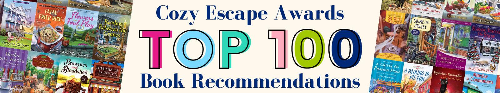 Cozy Escape Book Awards - Top 100 Cozy Mysteries